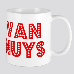 Retro Van Nuys (Red) Mug