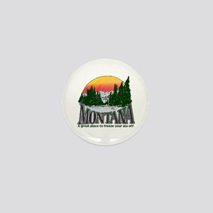 Cold Montana Mini Button
