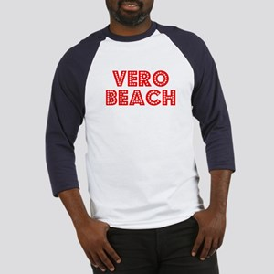 Retro Vero Beach (Red) Baseball Jersey