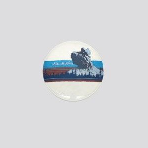 Mt. St Helens Mini Button