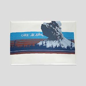 Mt. St Helens Rectangle Magnet