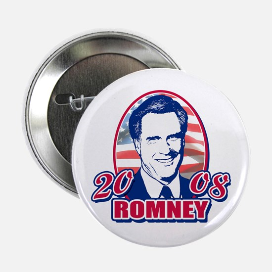 Mitt Romney Patriotic Button