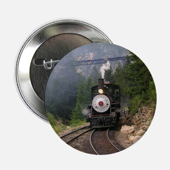 Georgetown Colorado Railroad Button