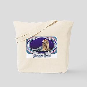 Yorkshire Terrier Yorkie Designer Tote Bag