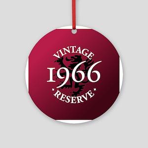 Vintage Reserve 1966 Ornament (Round)