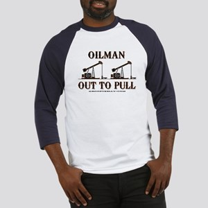 Oilman Out To Pull Baseball Jersey