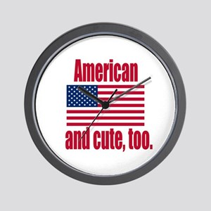 Cute American Wall Clock
