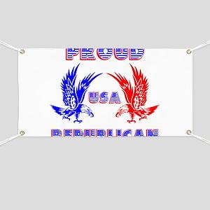 Proud USA Republican Banner