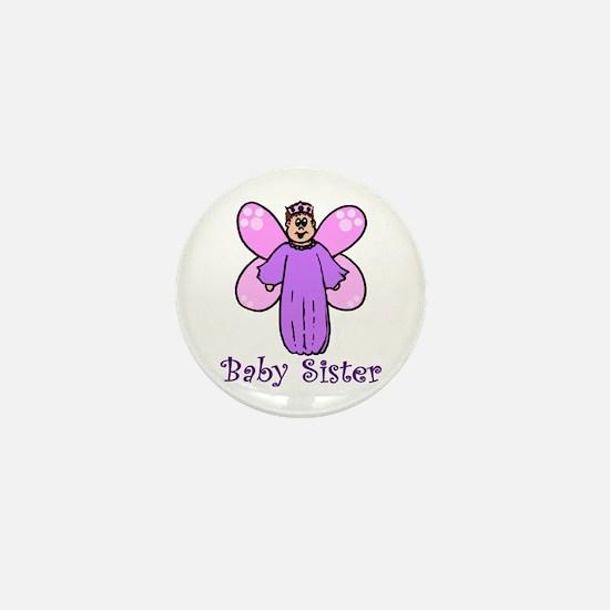 Little Sister - Fairy Mini Button