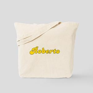 Retro Roberto (Gold) Tote Bag