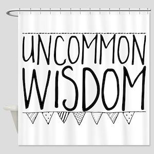 Uncommon Wisdom Shower Curtain