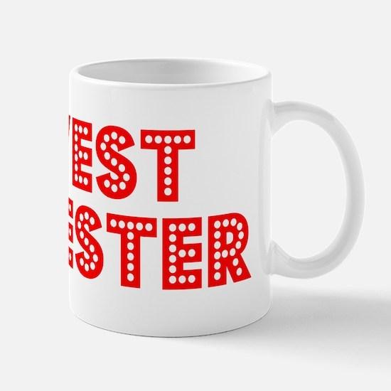 Retro West Chester (Red) Mug