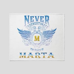 Never underestimate the power of Mar Throw Blanket