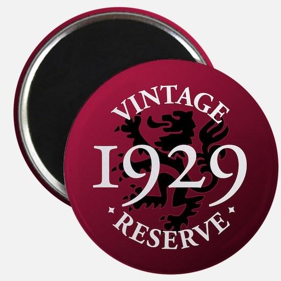 Vintage Reserve 1929 Magnet