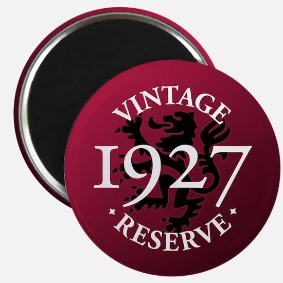 Vintage Reserve 1927 Magnet