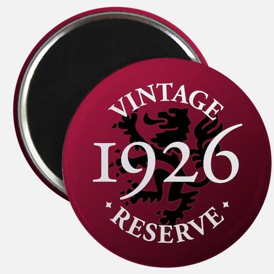 Vintage Reserve 1926 Magnet