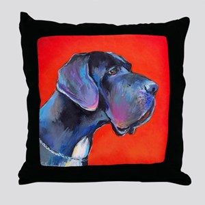 Great dane #2  Throw Pillow