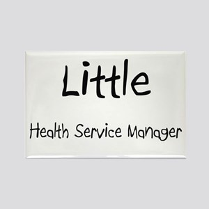 Little Health Service Manager Rectangle Magnet