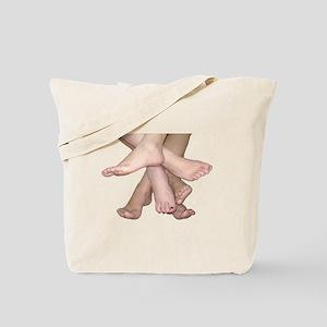 Family of Feet Tote Bag