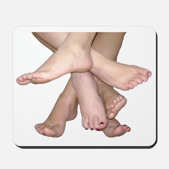 Family of Feet Mousepad