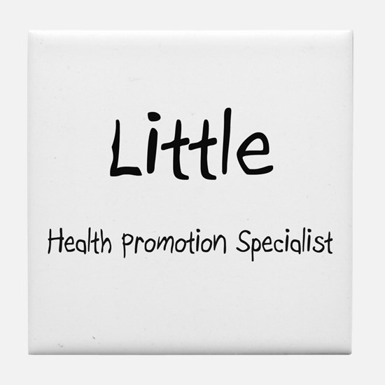 Little Health Promotion Specialist Tile Coaster