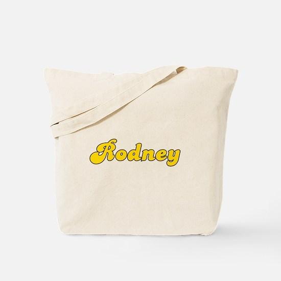 Retro Rodney (Gold) Tote Bag