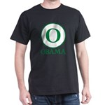 Green O Obama Dark T-Shirt