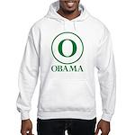 Green O Obama Hooded Sweatshirt