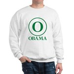 Green O Obama Sweatshirt