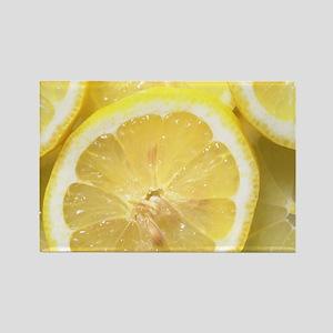 Lemon Kitchen Set Rectangle Magnet