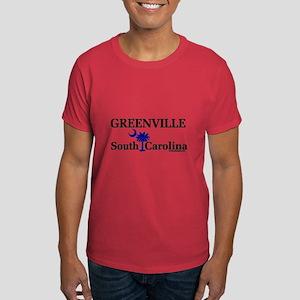 Greenville South Carolina Dark T-Shirt