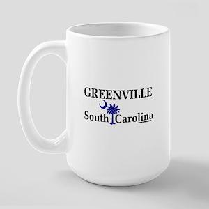 Greenville South Carolina Large Mug