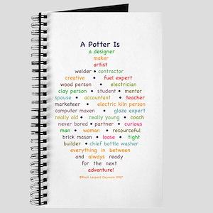 A Potter Is Spiral Sketchbook