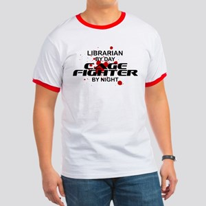 Librarian Cage Fighter by Night Ringer T
