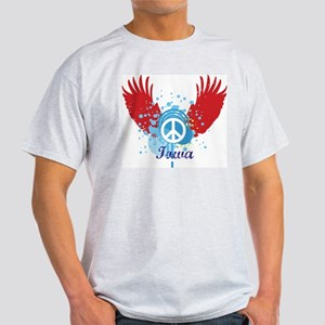 Iowa Peace Light T-Shirt