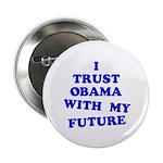 "Obama Trust 2.25"" Button (10 pack)"