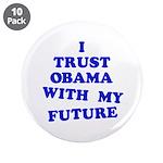 "Obama Trust 3.5"" Button (10 pack)"