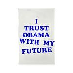 Obama Trust Rectangle Magnet (10 pack)