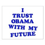 Obama Trust Small Poster
