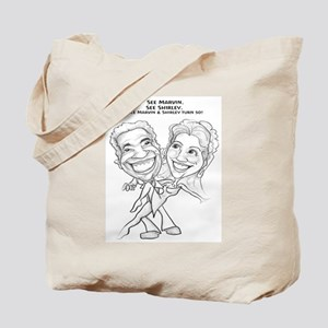 See Marvin. See Shirley.  Tote Bag
