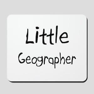 Little Geographer Mousepad