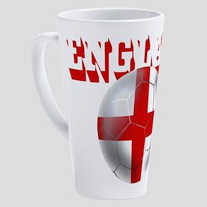 England Football 17 oz Latte Mug