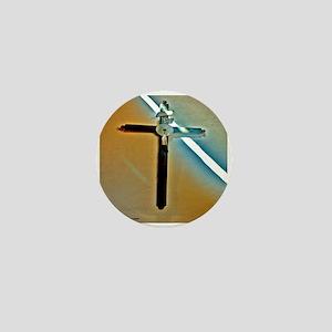 Eagle Cross Mini Button