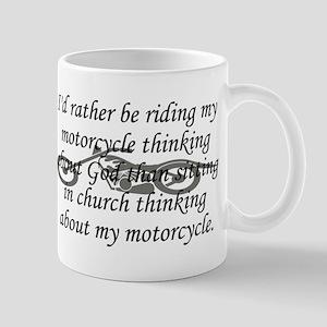 Bike & Church Mug