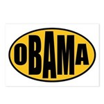 Gold Oval Obama Postcards (Package of 8)