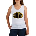 Gold Oval Obama Women's Tank Top