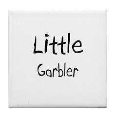 Little Garbler Tile Coaster