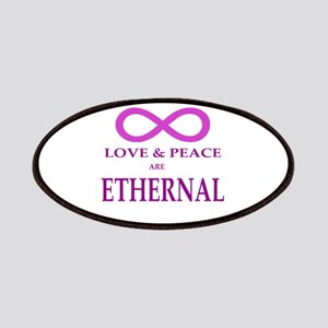 LOVE & PEACE ARE ETHERNAL Patch