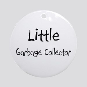 Little Garbage Collector Ornament (Round)