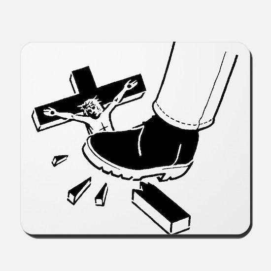 Crush Christianity Mousepad
